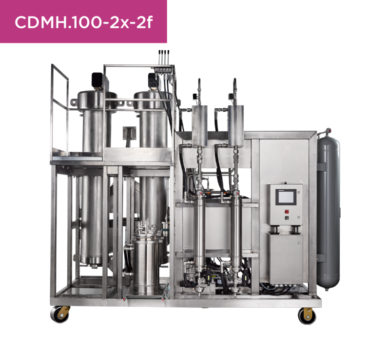 CDMH.100-2X-2F Isolate Extraction Systems Supercritical CO2
