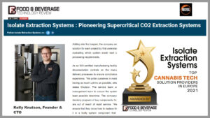 Isolate Extraction Systems top ten in Europe