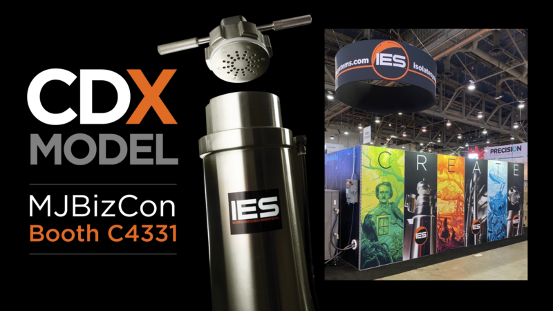 Isolate Extraction Systems at MJBizCon 2021